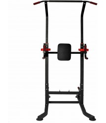 Adjustable Multi-Function Strength Training Dip Stand Home Workout Exercise Gym