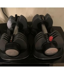 (2) S A Gear Adjustable 25Pound Dumbbells (total 50 Lbs)