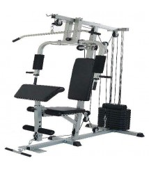 BalanceFrom Home Gym System Workout Station With 330lb of Resistance 125lb Weig