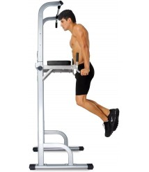 Ainfox Power Tower, Capacity 550 Lbs Pull Up Bar Tower Dip Stands Fitness Gym Of