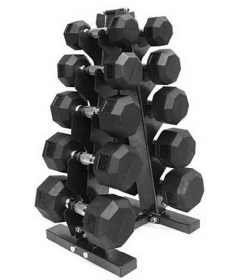 Xprt Fitness 150 Lb Dumbbell Set With Rack. New In Box.