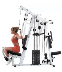 Body Solid Home Gym! ++many Extras! Weights Excercise