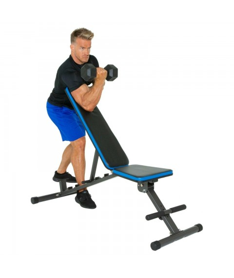 Weight Bench Exercise Adjustable 12 Position Extended 800 LB Home Gym Workout