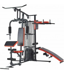 Best Home Gym Equipment Multi Station Workout Bench Pulley Pull Up Dip Machine