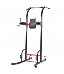 5 Station Workout Machine Abs Pull Up Dip Bars Push Up Bars Vertical Knee Raise