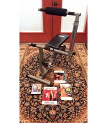 BODY BY JAKE TOTAL BODY TRAINER W/ DVD, RESISTANCE BANDS & MANUALS