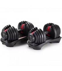 90lbs Adjustable Dumbells (Pair) 5-90 pounds 2 Year Manufacturer Warranty