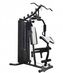 BalanceFrom Home Gym System Workout Station with 380LB of Resistance, 145LB Weig
