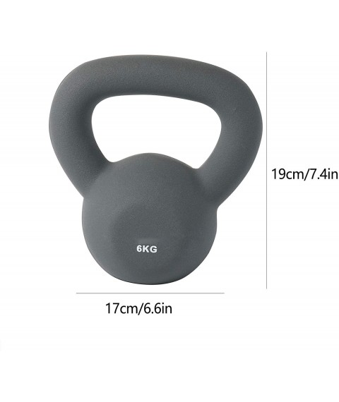 Cast Iron Kettlebell, Very Suitable for Whole Body Exercise, Cross Training, Weight Loss and Strength Training