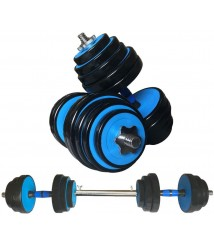 2in1 Weight Dumbbells Set, Adjustable 44/66/88Lbs Dumbbell, Home Fitness Barbell for Men Women Gym Training with Connecting Rod