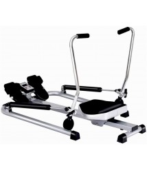 Celiy_Ship from US Warehouse Fitness Home Gym Rowing Machine Rower w/Adjustable Double Hydraulic Resistance