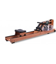 BATTIFE Water Rowing Machine with Bluetooth Monitor, Solid Red Walnut Wood Rower for Home Gyms Fitness Indoor Training Use
