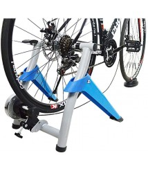BATOWE Bike Resistance Trainers Stand Bike Trainer Stand – Portable Stainless Steel Indoor Trainer Bike Trainer Stand 7 Levels Magnetic Bicycle Stationary Stand