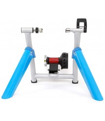 BATOWE Indoor Exercise Resistance Trainer Stand Foldable Bike Trainer,magnetic Turbo Trainer,cycling Trainer Home,bicycle Trainer Rollers,training Indoor Exercise,noise Reduction Trainer Blue 26-28inc