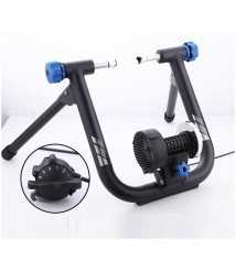 BATOWE Indoor Exercise Bicycle Trainers Magnetic Bicycle Trainer - Bike Turbo Trainer - Indoor Stationary Exercise Stand Steel Frame,Magnetic Resistance for Mountain & Road Bikes