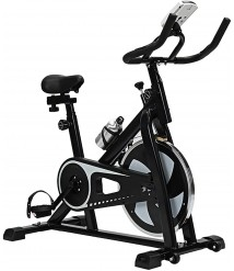 AAADRESSES Exercise Bike, Elliptical Machine Cross Trainer, with LED Performance Monitor Home Ultra-Quiet Indoor Cycling Fitness Equipment