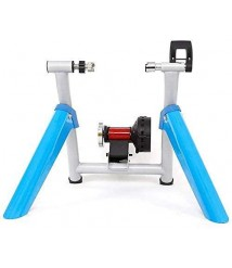 All-Season Indoor Foldable Bike Resistance Trainers, Aluminum Alloy Material, Silent Roller, Non-Slip, Scratch-Resistant, Stable and Durable, for 700C Bicycle