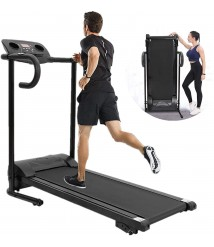 == 【Fast Delivery Deal】 Electric Folding Treadmill,Folding Treadmill,Electric Running Machine with 12 Programs & LCD Screen,Running Walking Jogging Exercise Fitness Machine for Home Workout.