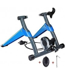 Bike Magnetic Turbo Trainer - Bike Trainer Stand - with 8-Stage Cable Control, Noise Reduction, Quick Release and Front Wheel Riser